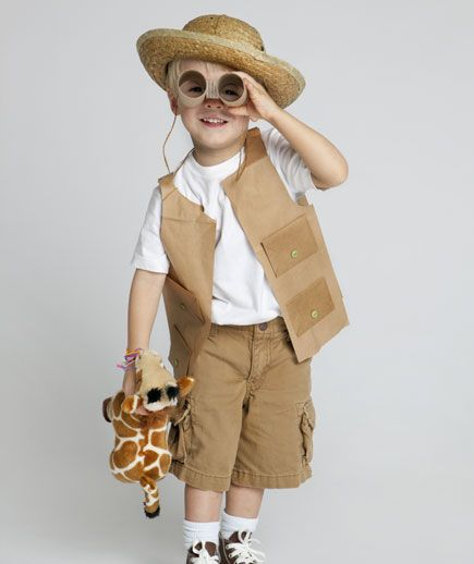 Wild Safari Costume