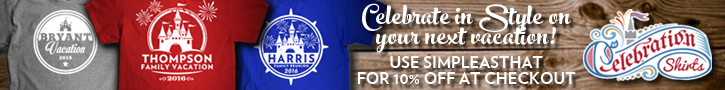 10% Off Celebration Shirts with code SIMPLEASTHAT