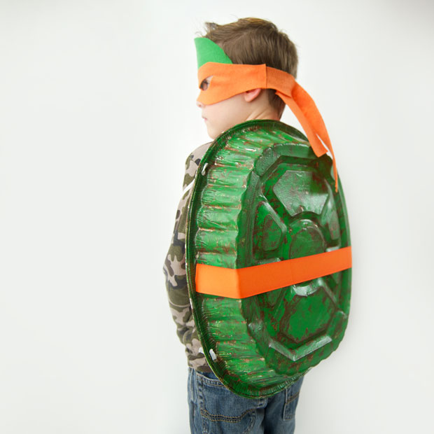 Quick and Easy Teenage Mutant Ninja Turtle Costume