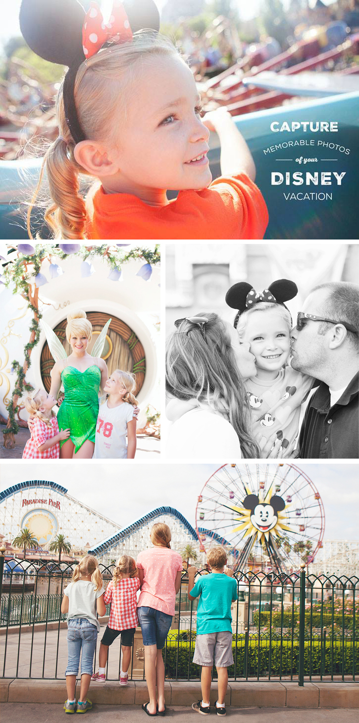 Tips for Capturing Memorable Photos of your Disney Vacation