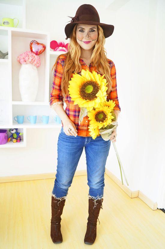 Simple Scarecrow Costume