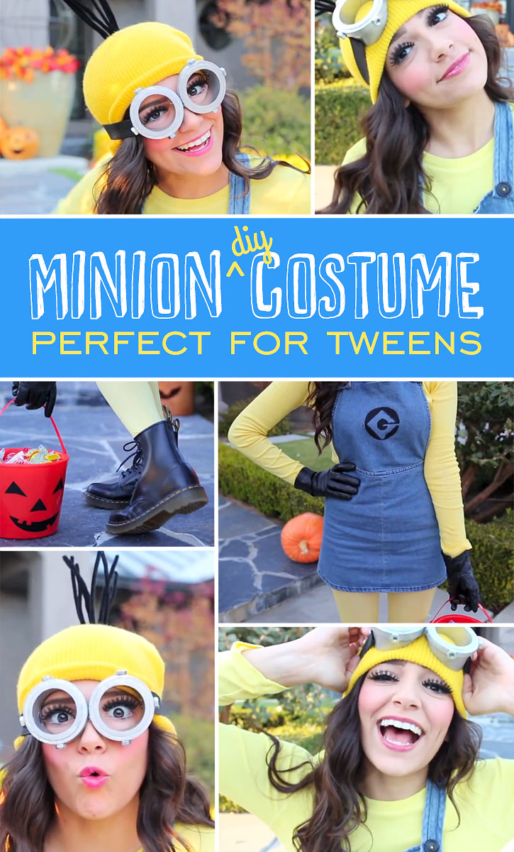 Simple DIY Minion Costume