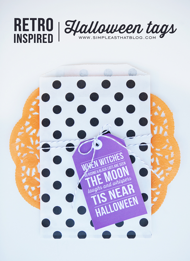 Printable Halloween Gift Tags