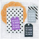 Retro Inspired Printable Halloween Gift Tags