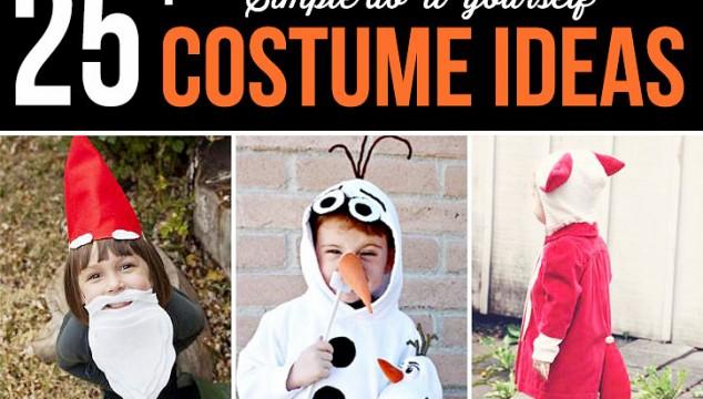 50+ Simple DIY Costume Ideas
