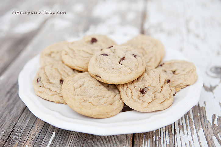 All time favourite Chocolate Chip Cookie Recipe