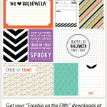 Halloween Journaling + Filler Cards