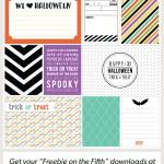 Halloween Journaling + Filler Cards