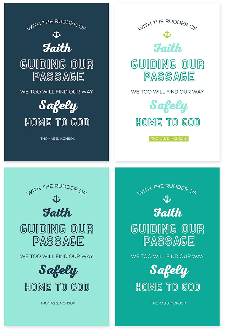 October 2014 General Conference Quote Printables