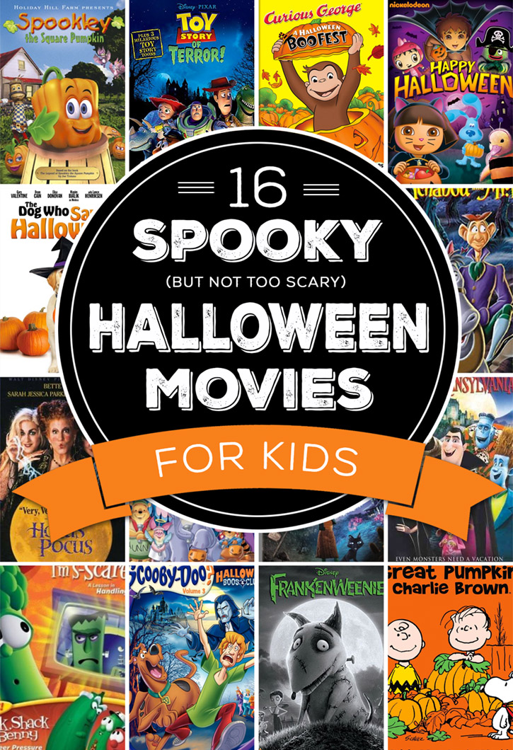 Spooky (but not too scary) Halloween Movies for Kids