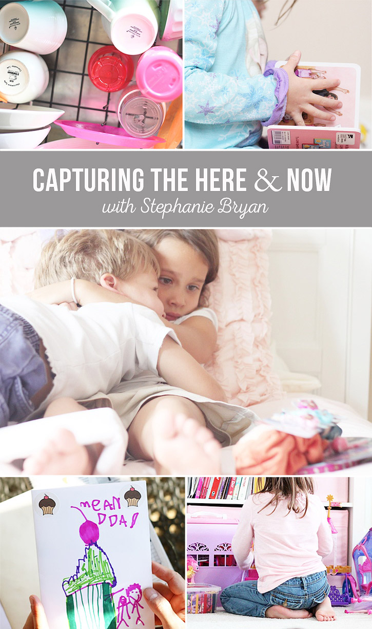 Capturing life's everyday details - here and now!