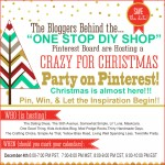 Crazy for Christmas Party on Pinterest & Giveaway!