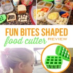 Fun bites Shaped Food cutter for quickly and easily cutting food into fun, bite-sized shapes.