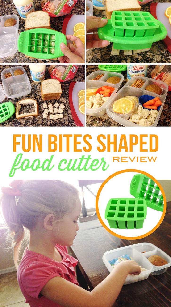 Funbites shaped food cutter review for Funbites