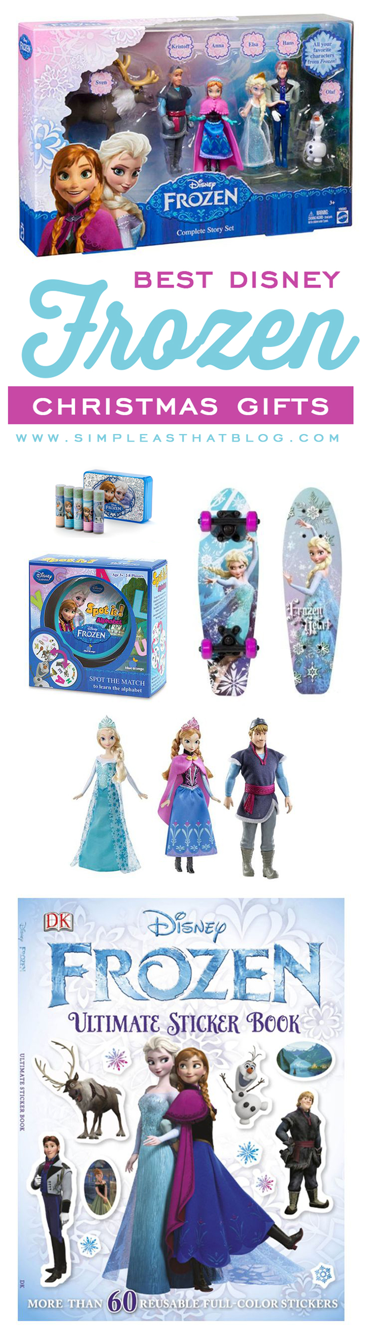 Best Disney Frozen Gift Ideas this Christmas // Tried and true products our kids have loved and items that will be under our tree this year.