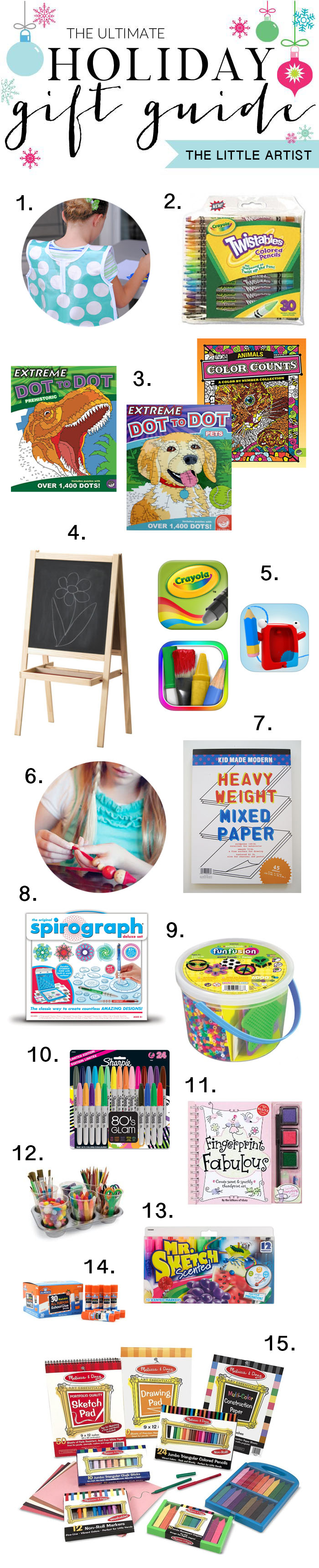 The Ultimate Holiday Gift Guide for the Little Artist on your List