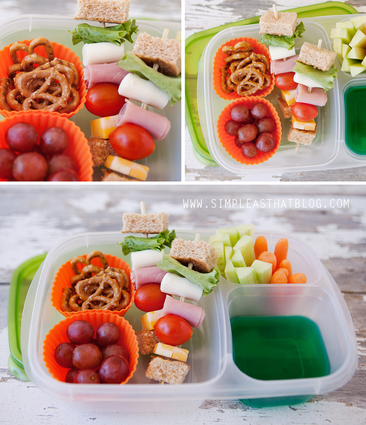 A weeks worth of simple and healthy school lunch ideas