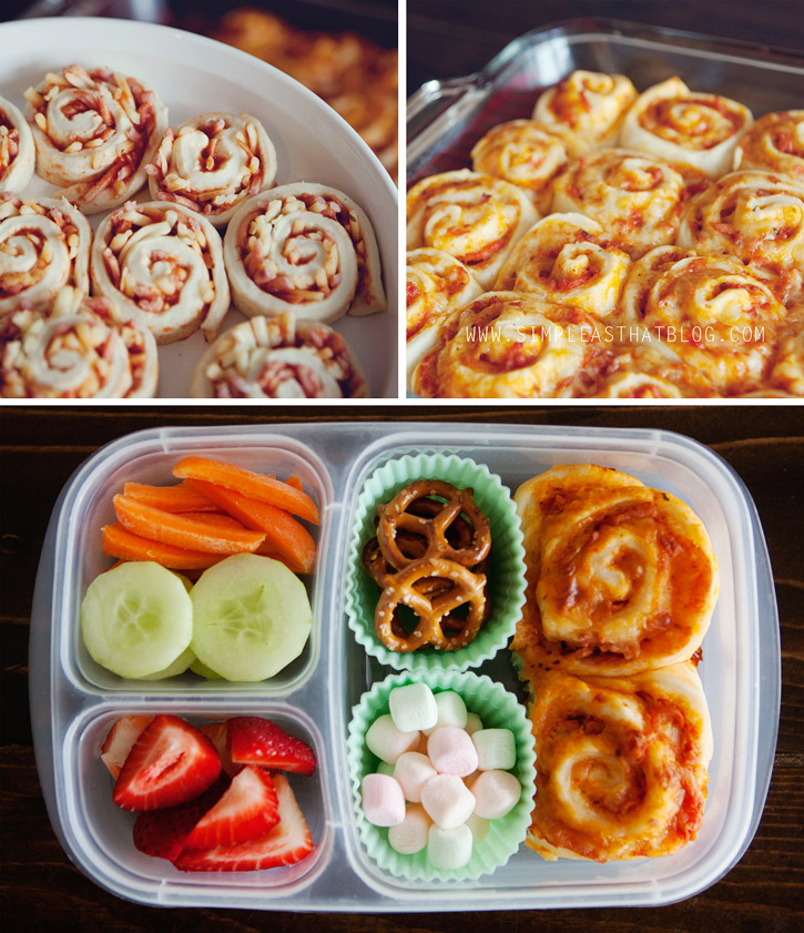 Easy Pizza Buns Recipe for School Lunches