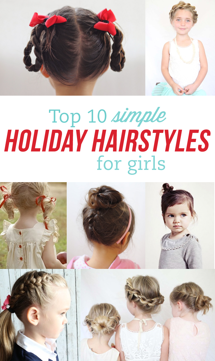 Marvelous Simple Holiday Hairstyles For Girls Our Favorite Curlers Short Hairstyles Gunalazisus