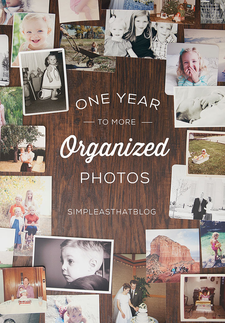 One Year to More Organized Photos