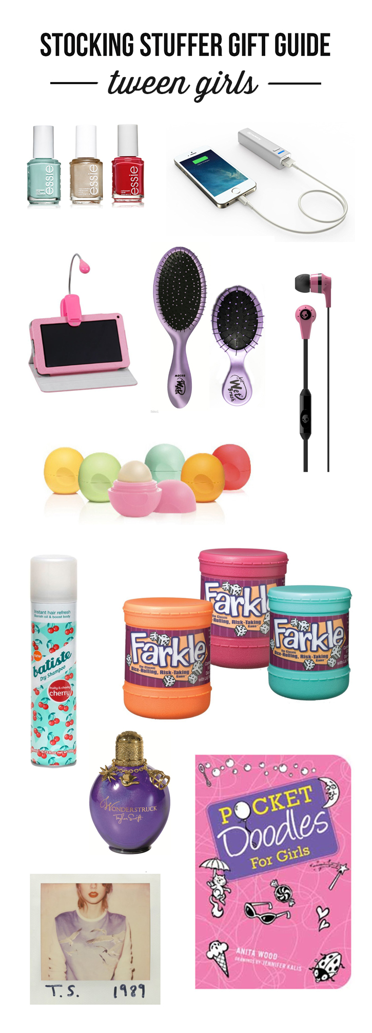 the ultimate stocking stuffer gift guide for tween girls lots of unique and memorable gift