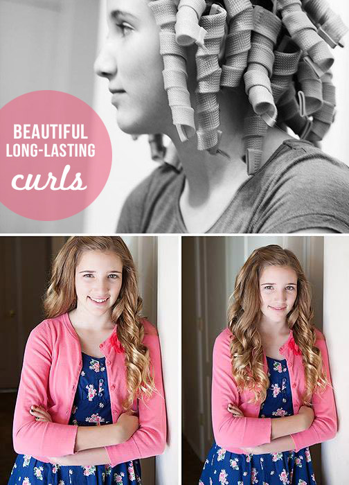 Enjoyable Simple Holiday Hairstyles For Girls Our Favorite Curlers Short Hairstyles Gunalazisus