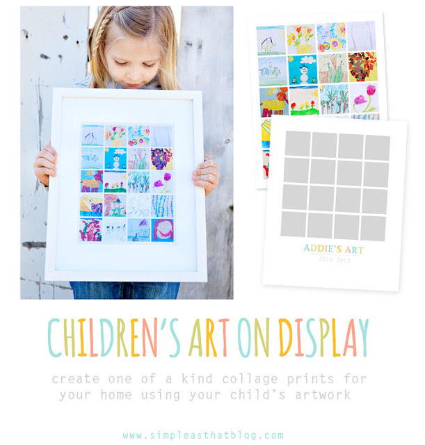 Ways to Organize and Display Children's Artwork