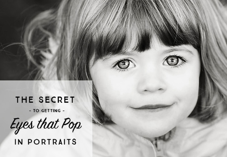 The Secret to Eyes that Pop and Sparkle in Portraits