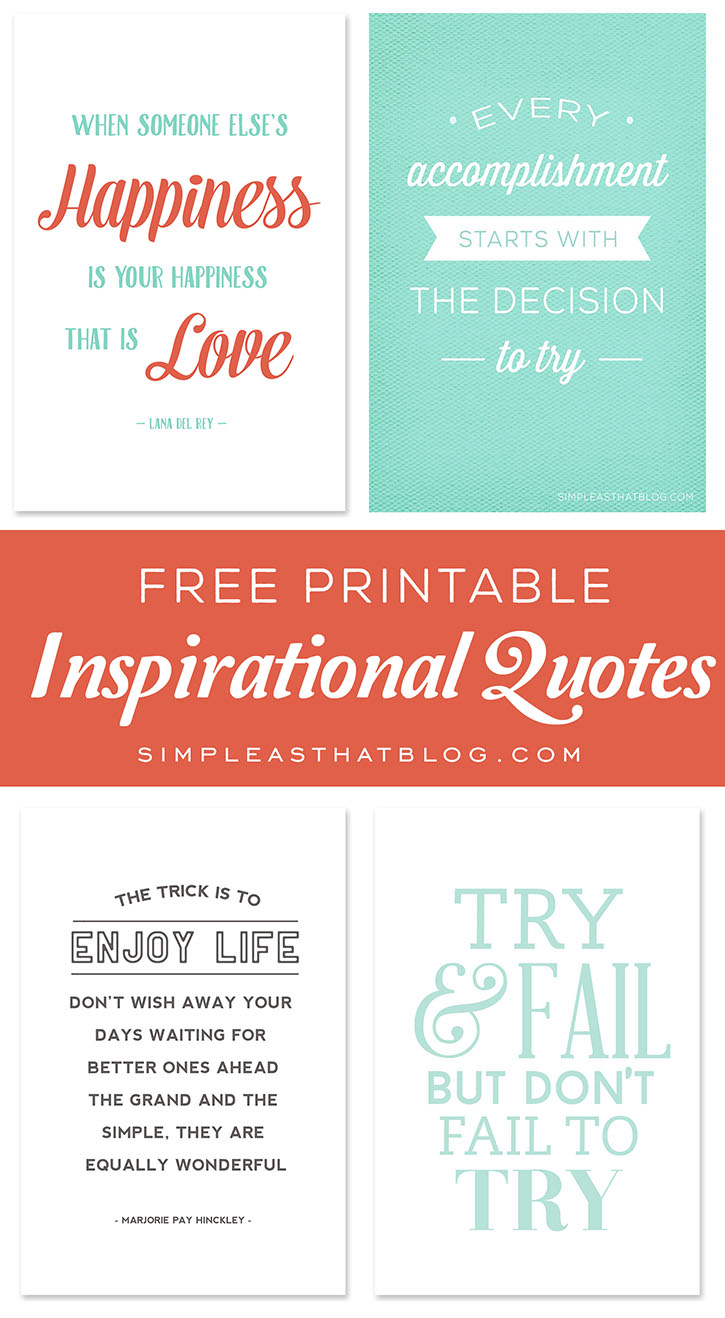 It's just a photo of Influential Free Printable Quotes