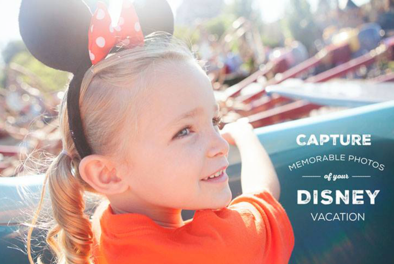 Capture Memorable Photos of your Disney Vacation