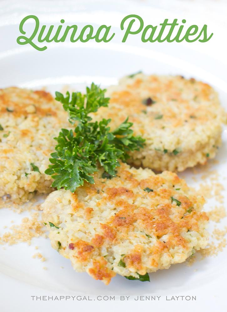 Quinoa Patties PLUS 3 more quick and easy, kid-friendly dinner ideas ...
