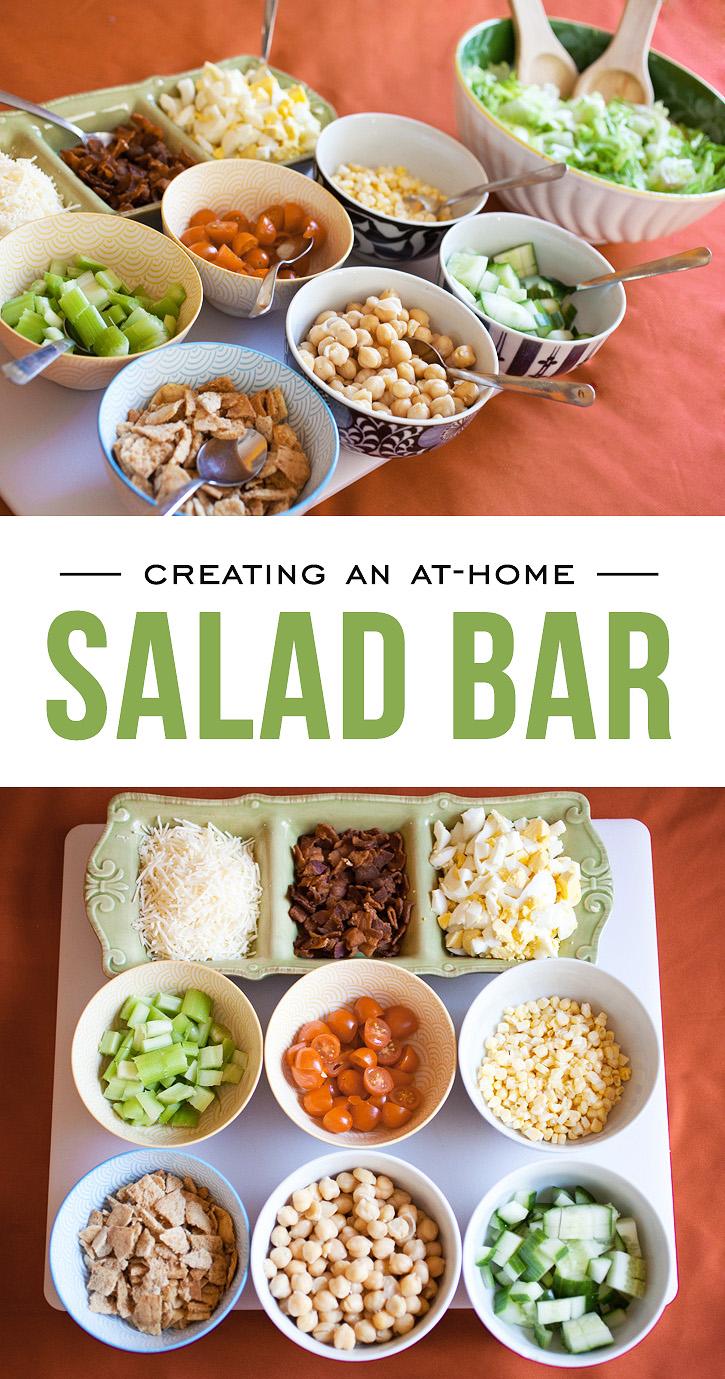 Creating An At-Home Salad Bar