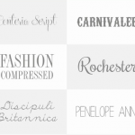 18 Elegant Fonts for Easter