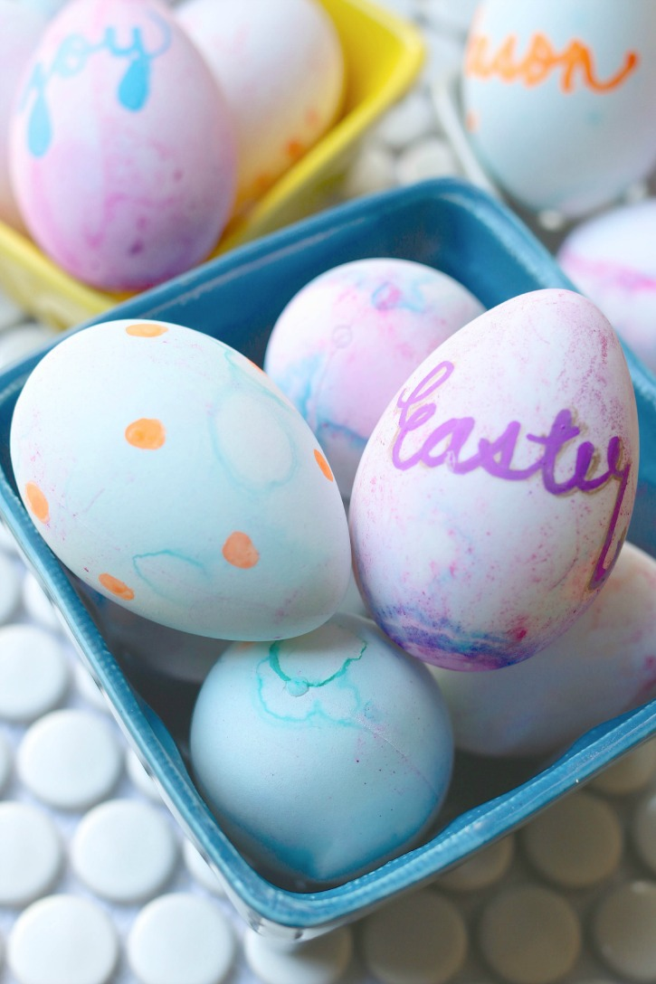 Crafty Dyeable Easter Eggs