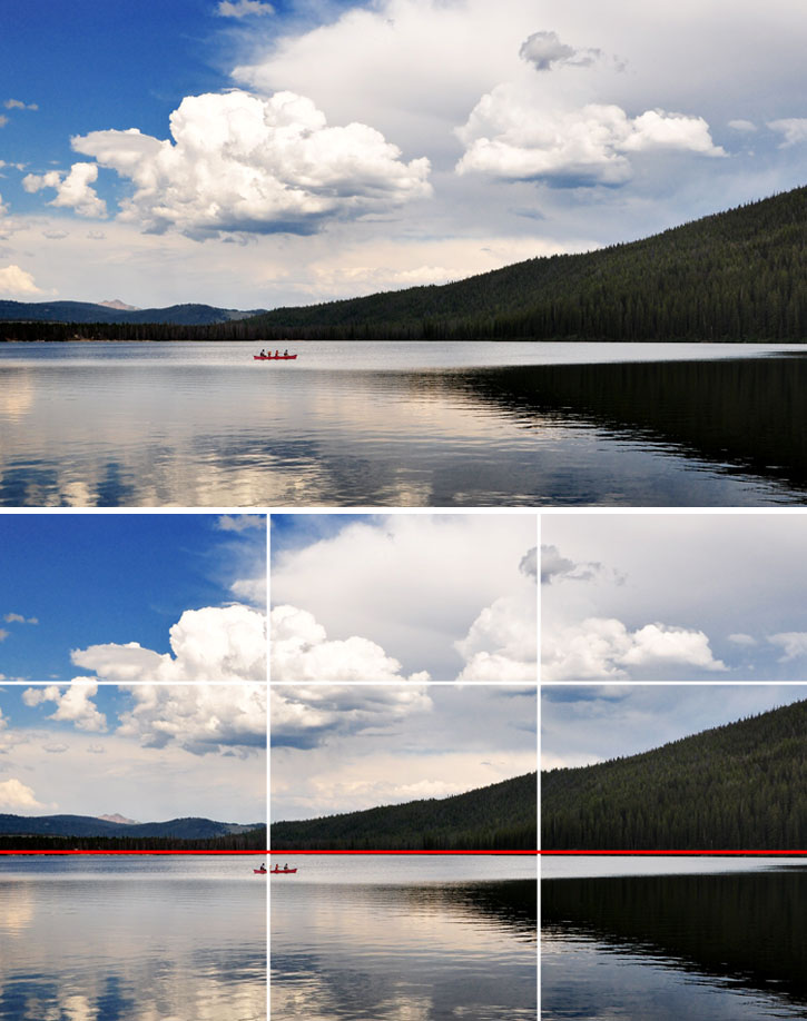 how to show a grid in photoshop