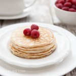 Healthy Oatmeal Blender Pancakes – Kid Approved
