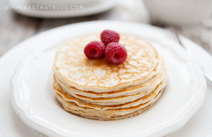 These Healthy Oatmeal Blender Pancakes Are Packed With Protein, Whole  Grains And Fibre! The