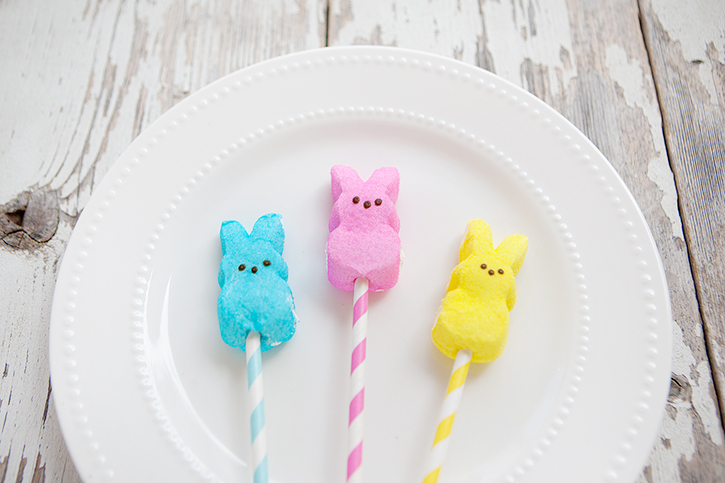 Pops with free printable easter gift tags quick and easy peeps pops with free printable gift tags negle Gallery
