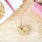 Kid Friendly Bread and Peanut Butter Bird Feeder