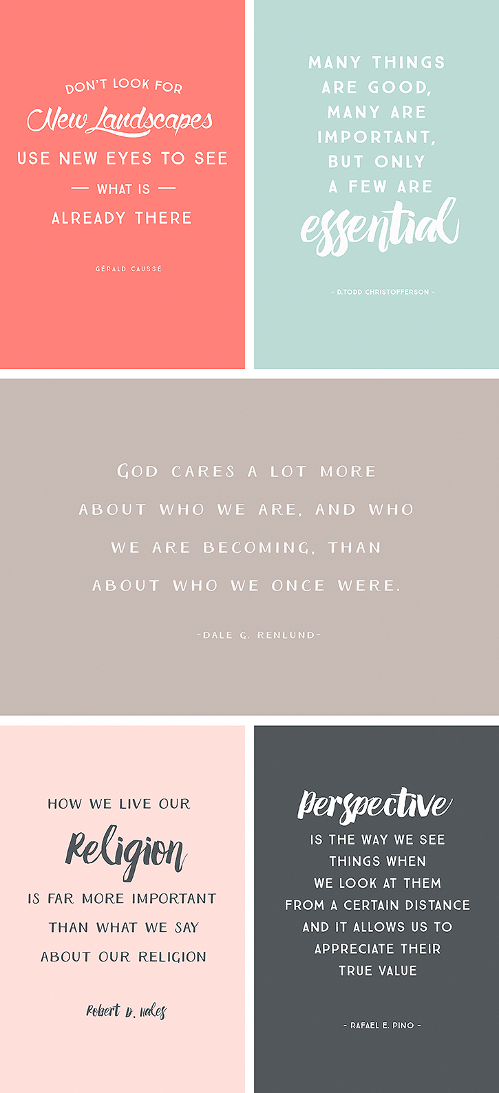 Over 20 printable and shareable quotes from the April 2015 session of LDS Conference.