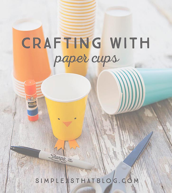Crafting with Paper Cups