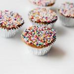 Wholesome Mini Yellow Cupcakes