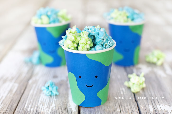 Easy Earth Day Treat Cups