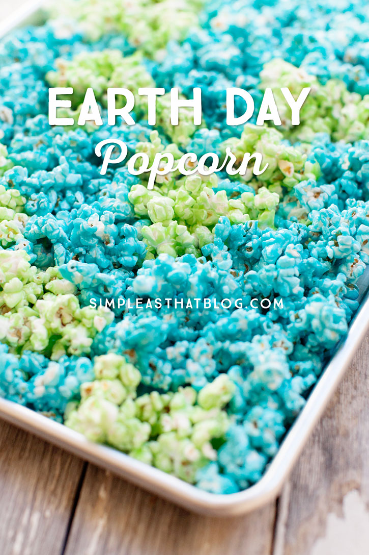 Earth Day Popcorn