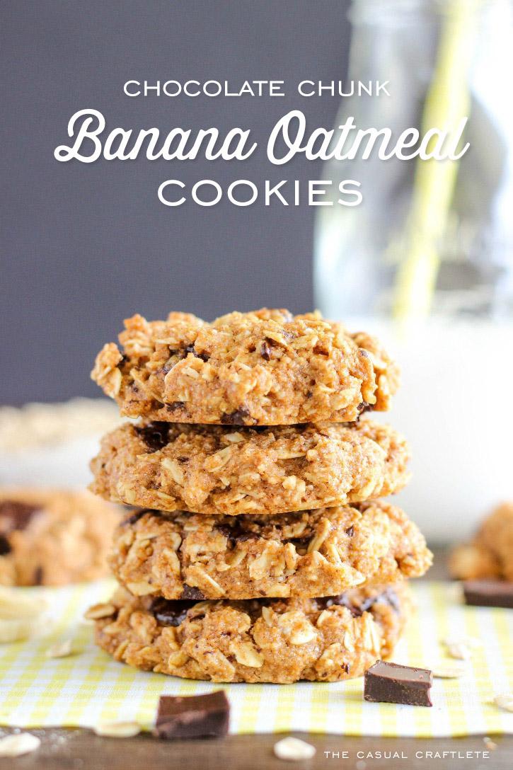 Chocolate Chunk And Oatmeal Cookies