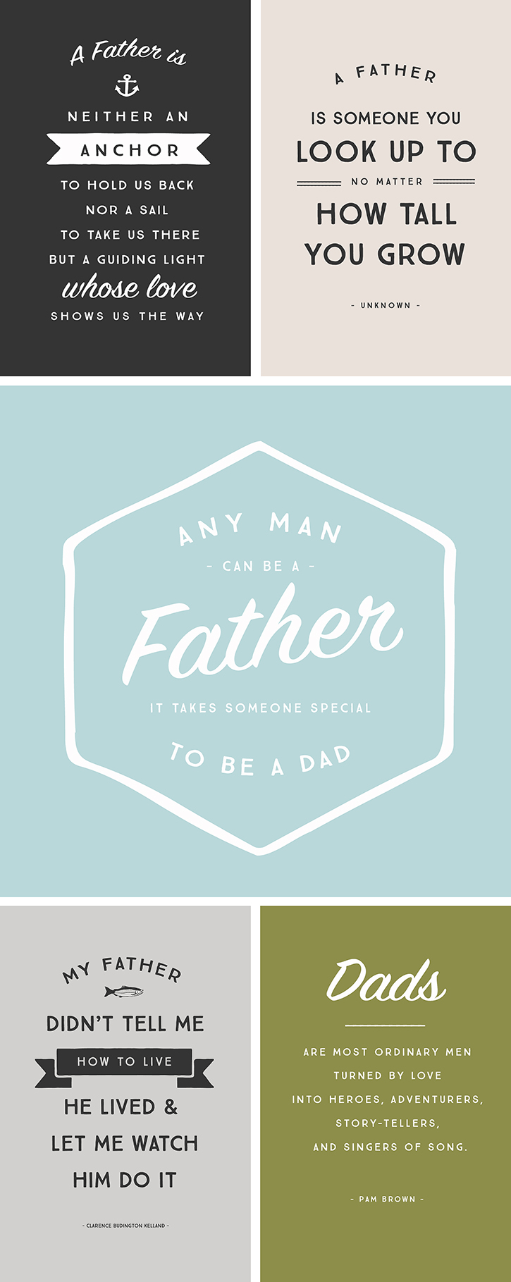 5 inspirational quotes for father 39 s day