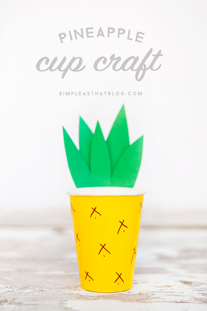Hawaiian Party Craft Ideas