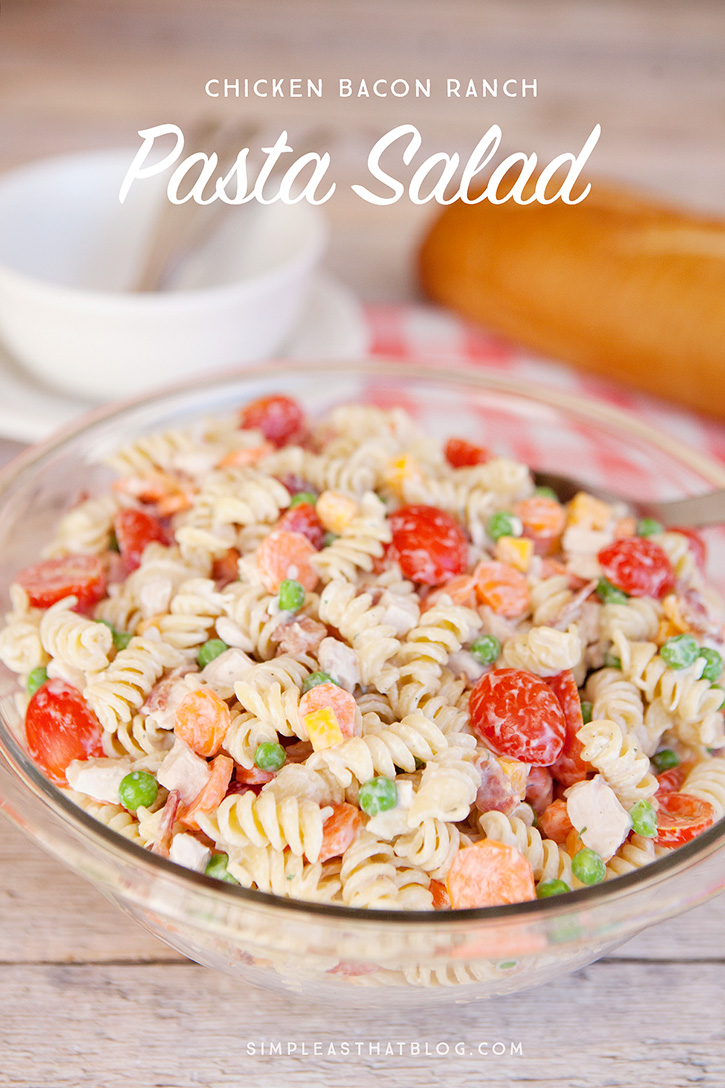 creamy pasta salad with bacon wwwpixsharkcom images