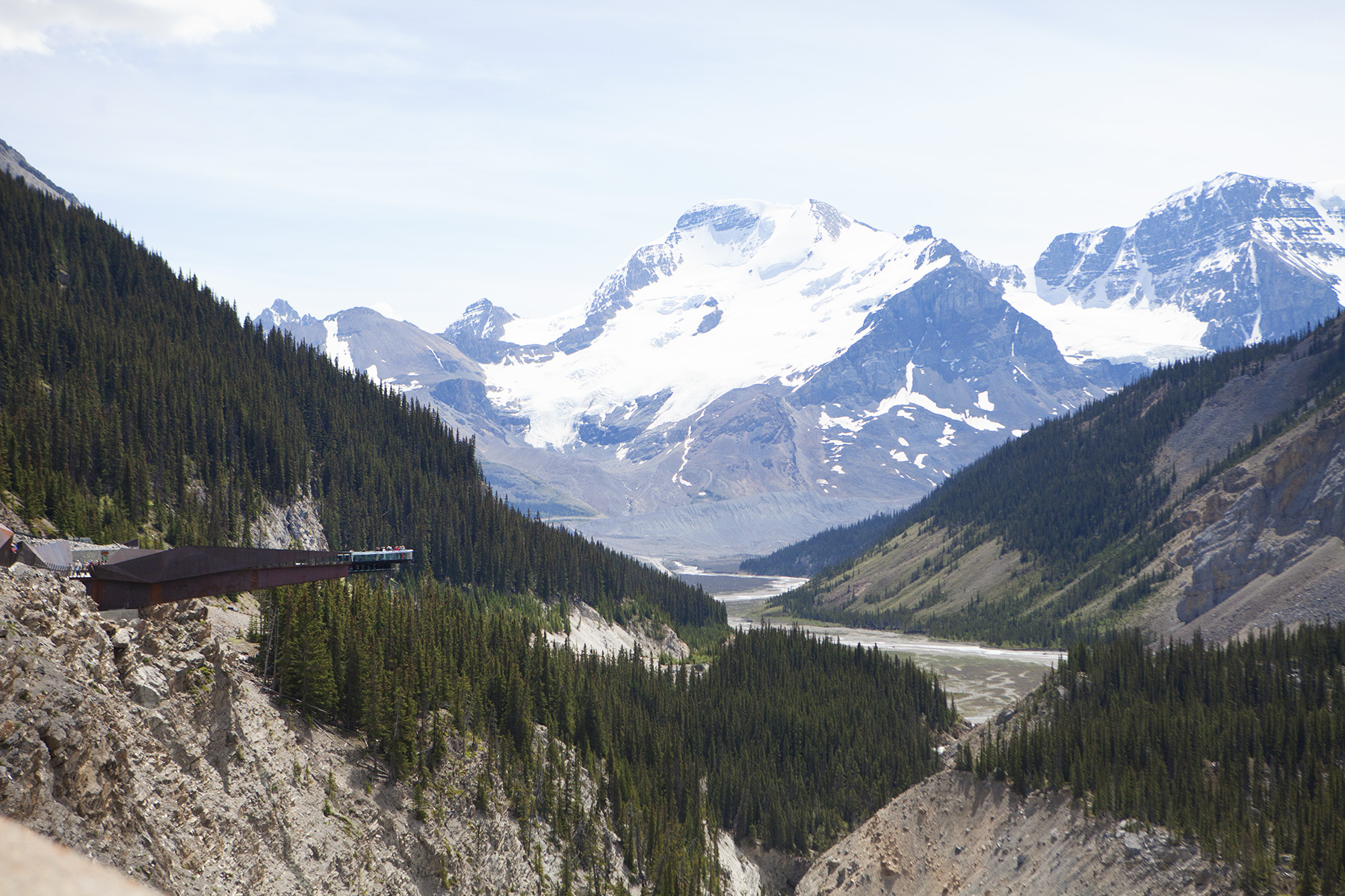 Glacier Skywalk - see the Columbia Icefields and surrounding Rocky Mountains from a unique perspective!