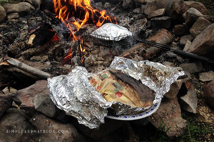 Foil Dinner Campfire Cooking Hack
